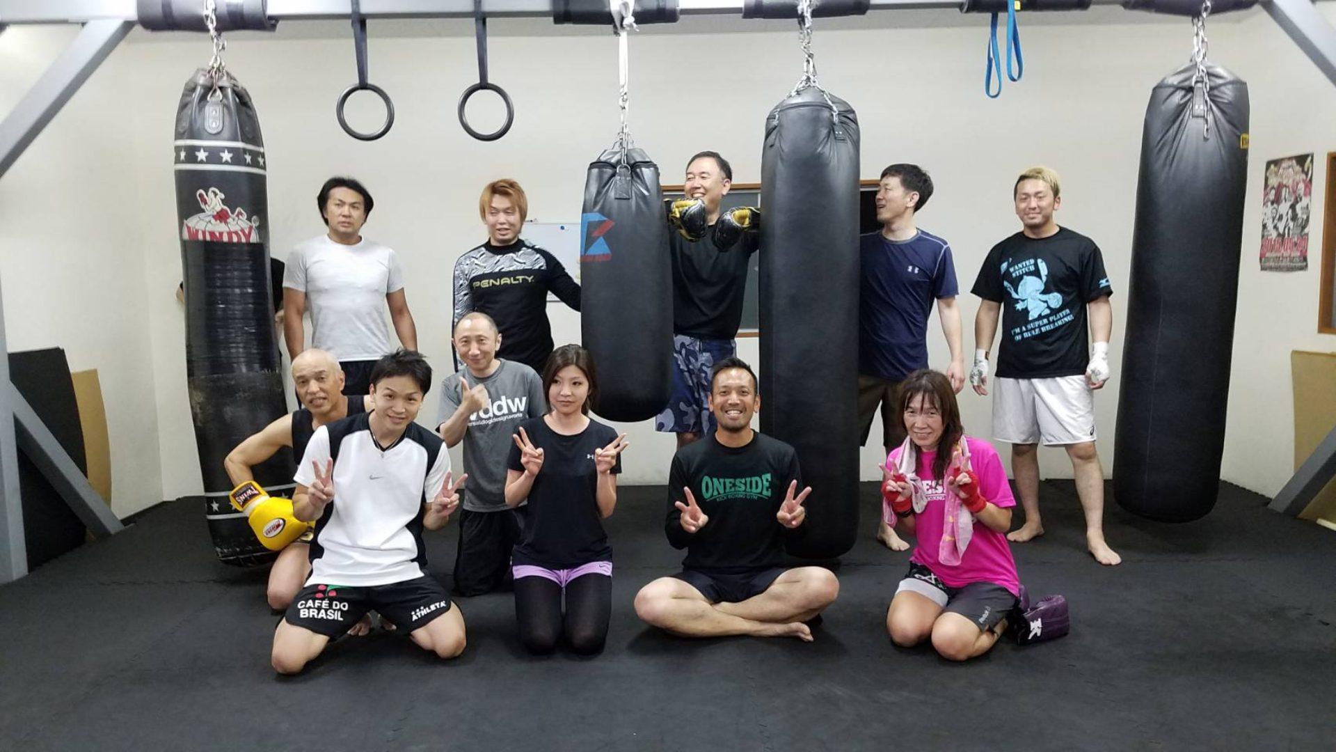 長野市ワンサイドキックボクシングジム